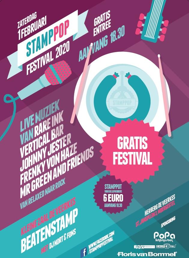 Poster StampPop 2020 Moergestel