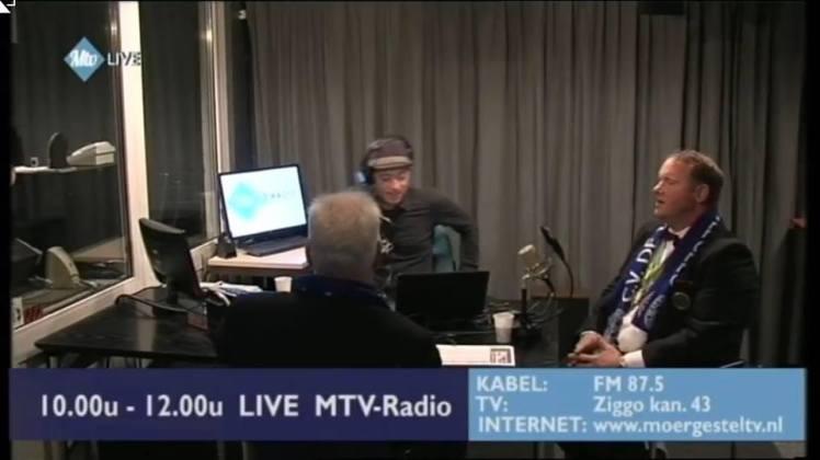 Martinus en Ron bij MTV Radio Bla Bla