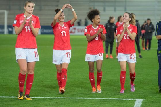 Zwitserse voetbalvrouwen