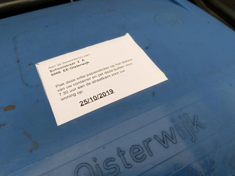 Oisterwijk foute postcode Moergestel