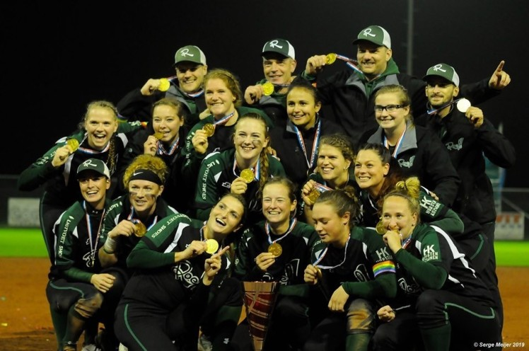 Roef Softbal Moergestel kampioen Golden League