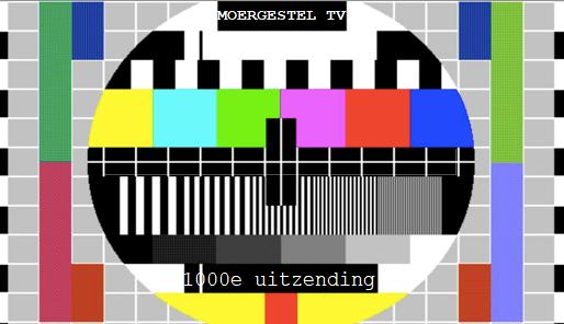 testbeeld Moergestel tv 1000e uitzending